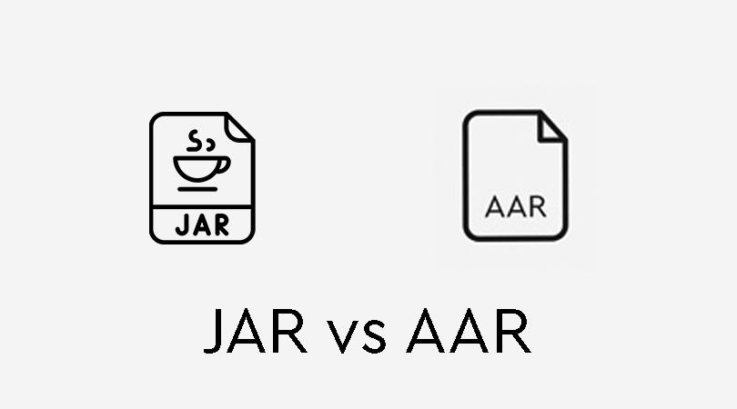 تفاوت کتابخانه aar و jar