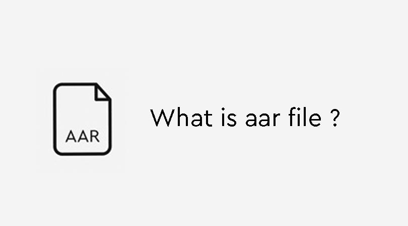 فایل AAR چیست ؟